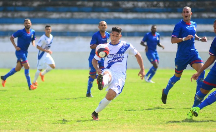Everton Taubaté (Foto: Bruno Castilho/EC Taubaté)