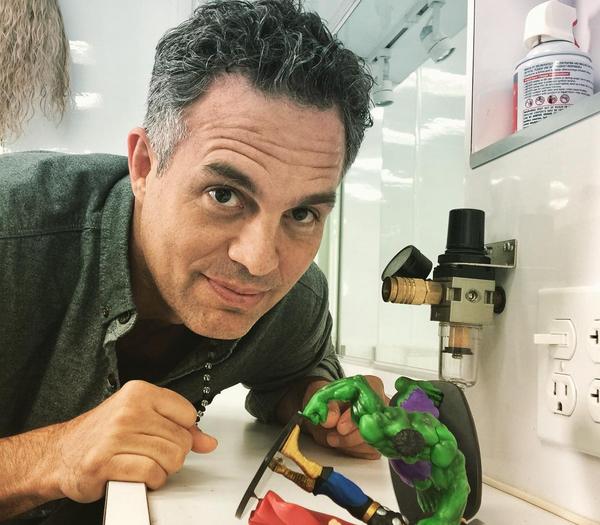 O ator Mark Ruffalo (Foto: Instagram)