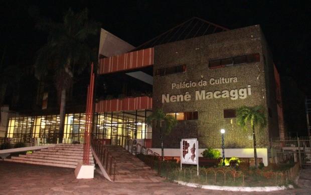 A IV Mostra de Cinema é realizada no Palácio da Cultura, em Boa Vista (Foto: Pablo Felippe)