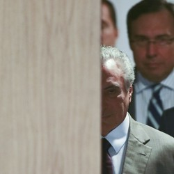 O presidente Michel Temer faz pronunciamento à imprensa (Foto: Jorge William  / Agência O Globo )