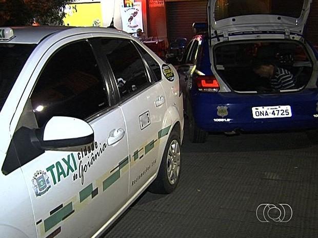 Taxista é preso suspeito de estuprar menina de 11 anos em Goiânia, Goiás (Foto: Reprodução/TV Anhanguera)