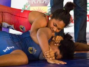 Larrisa Tywaki é esperança de medalha para MT (Foto: Junior Martins / Assessoria)