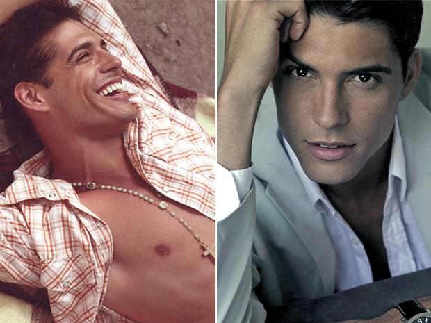 Marlos Cruz em trabalhos como modelo (Foto: Arquivo Pessoal)