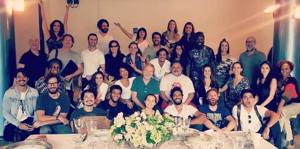 Elenco de Novo Mundo inicia preparação para a novela (Foto: Reprodução/Instagram)