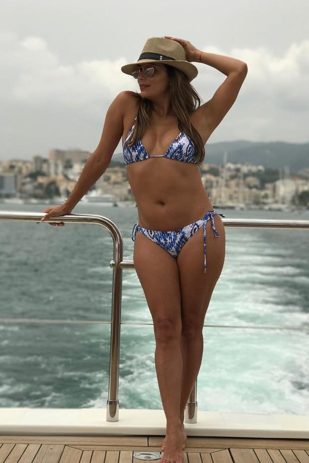 Eva Longoria mostra como sair bem na foto de biquíni ... ева лонгория инстаграм