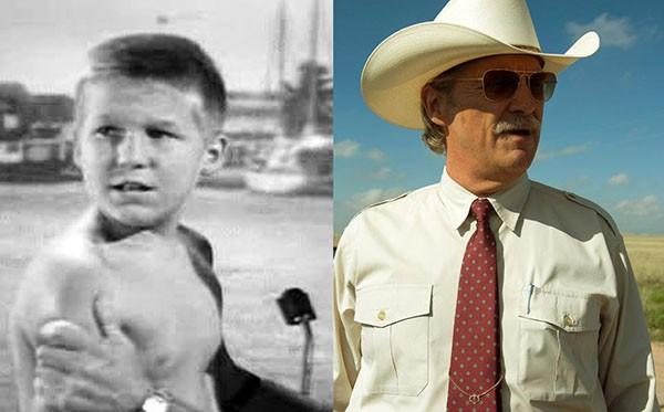 Jeff Bridges em 'Aventura Submarina' (1958) e 'A Qualquer Custo' (2016) (Foto: Divulgação)