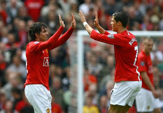 Tevez Cristiano Ronaldo Manchester United (Foto: Getty Images)