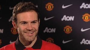 Juan Mata Manchester United (Foto: Reprodução / Site Oficial)