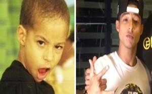 Peter Brandão - antes e depois