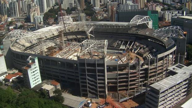 Arena Palestra Allianz Parque (Foto: Divulgação / WTorre)