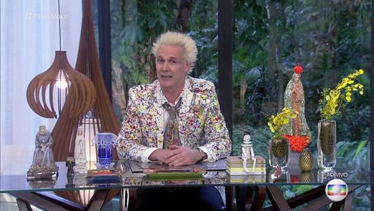 Supla começa o 'Mais Você' no lugar de Ana Maria e elogia cabelo da apresentadora: 'Ótimo'