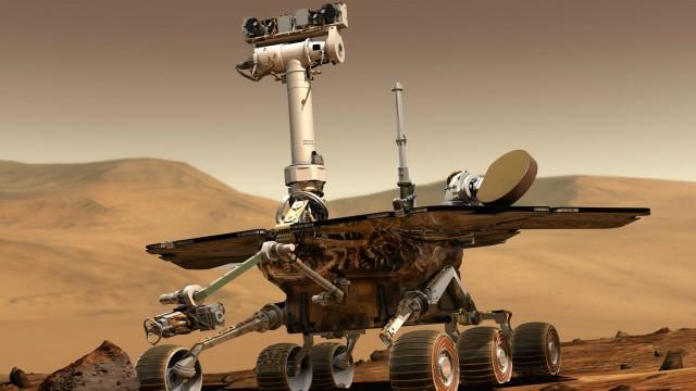 Robô Opportunity capta imagens de Marte desde 2004 (Foto: Reprodução/Nasa/BBC)