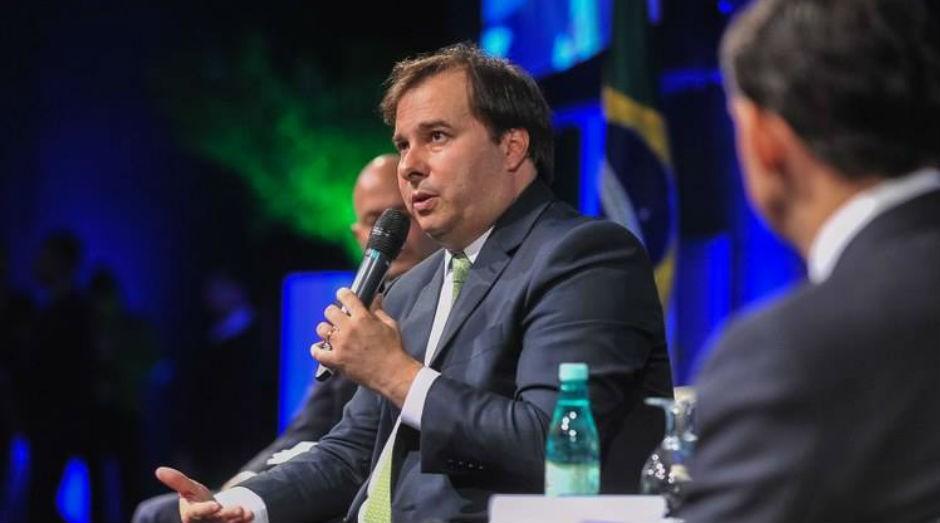 Rodrigo Maia, Presidente da Câmara dos Deputados (Foto: Reprodução/Facebook)