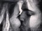 Natalia Casassola beija e se declara para namorado em rede social