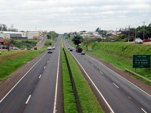 Uma das rodovias analisadas na pesquisa foi a Raposo Tavares (SP-270) (Foto: Arquivo/G1)