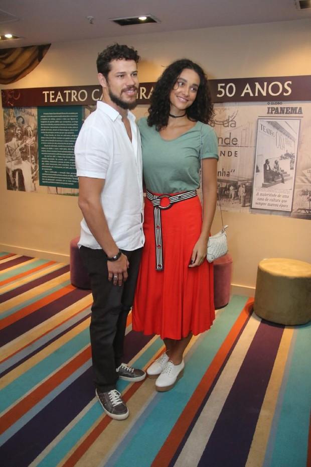 José Loreto e Debora Nascimento (Foto: Daniel Pinheiro/AgNews )