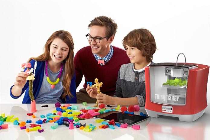 Mattel lançou a ThingMaker, impressora 3D para crianças (Foto: Divulgação/Mattel)