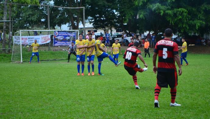 Jogos do último fim de semana definiram os confrontos das quartas de final da Copa Curitiba, em Ji-Paraná (Foto: Pâmela Fernandes)