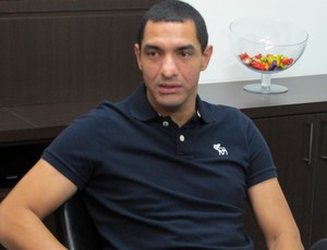 Fábio Costa ex-goleiro Santos (Foto: Bruno Gutierrez)