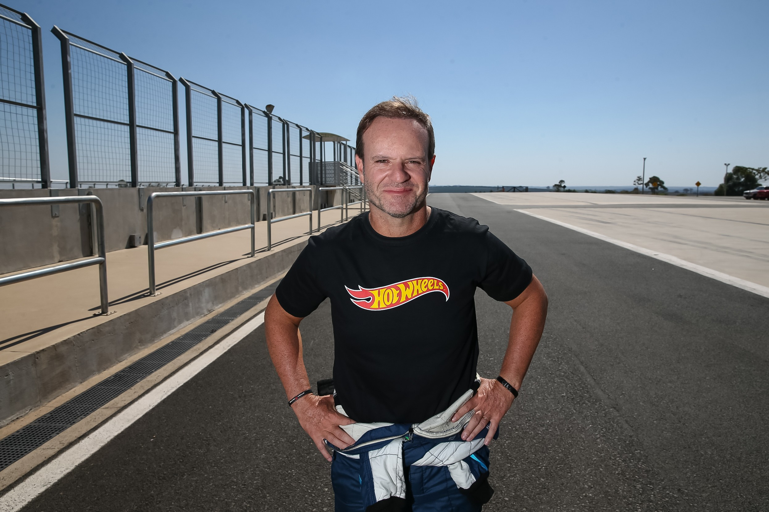 O vice-campeão de F1 Rubens Barrichelo (Foto: Raphael Castello)