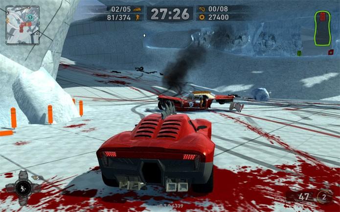 Carmageddon Reincarnation está com desconto no Steam (Foto: Divulgação)