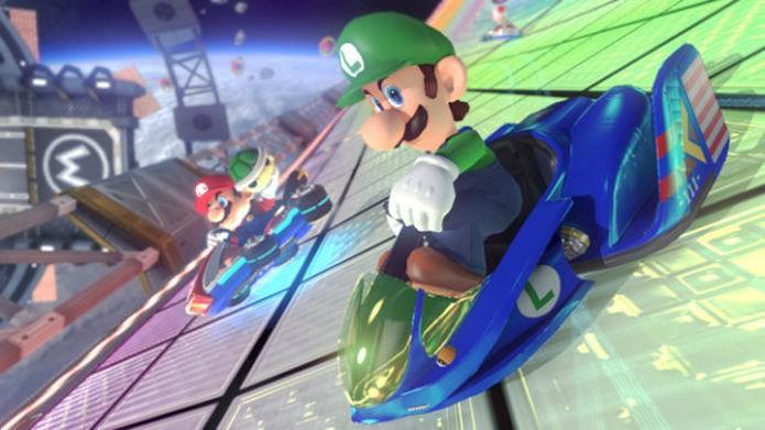 Os carros de F-Zero também estarão no game (Foto: Divulgação)
