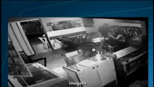 Vídeo mostra ação de criminosos em Marilândia, distrito de Itapecerica