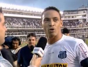 Ricardo Oliveira se irrita com pergunta sobre seu rendimento
