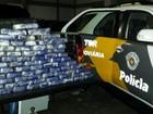 Operação apreende pasta base de cocaína em fundo falso de veículo