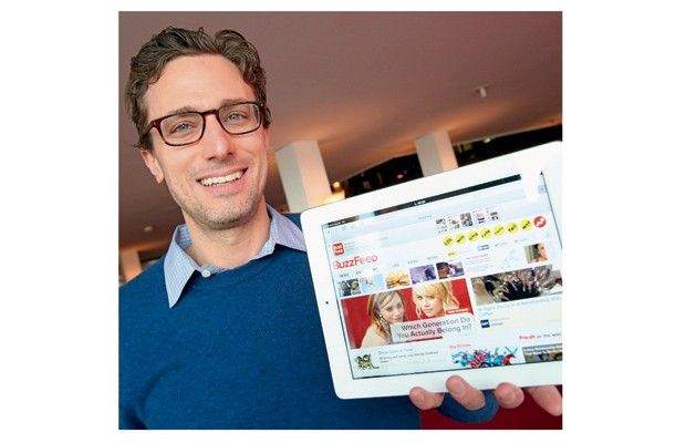 Empresa;Internet;Buzz Feed;Jonah Peretti (Foto: picture alliance)
