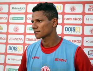 Adrinao Pardal, atacante do América-RN (Foto: Jocaff Souza)