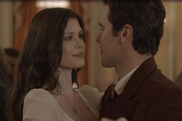 Vitória Strada e Bruno Ferrari em 'Tempo de amar' (Foto: TV Globo)