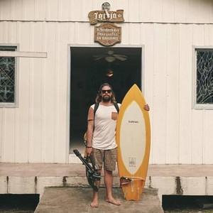 Surfista gaúcho Lucas Zuch surfista Lucas Zuch (Foto: Reprodução/Facebook)