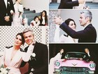 Otaviano Costa e Flávia Alessandra se casam em Las Vegas