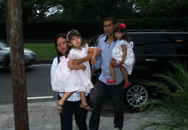 Filhas da giovanna antonelli (Foto: Clayton Militão e Marcos Ferreira - Foto Rio News)