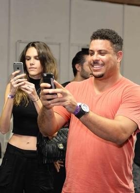 Ronaldo Fenômeno em show na Zona Sul do Rio (Foto: Ari Kaye/ Divulgação)