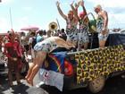 'Virgens de Verdade' agitam domingo de prévias na orla de Olinda