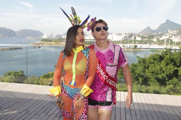 Anitta leva famosos para Bloco das Poderosas (Foto: Raphael Mesquita/Brazil News)