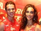 'Namoro de vento em popa', diz Débora sobre Loreto, na Sapucaí