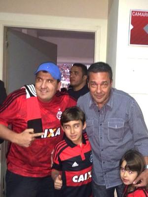 Vanderlei Luxemburgo, Basquete Flamengo (Foto: Amanda Kestelman)