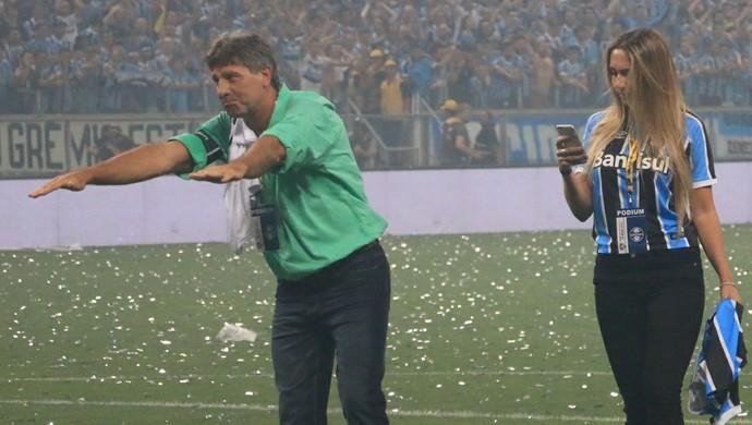 Renato Portaluppi técnico Grêmio (Foto: Diego Guichard / GloboEsporte.com)