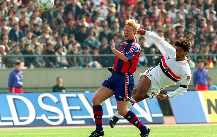 Raí são paulo koeman barcelona mundial 1992 (Foto: Agência AFP)