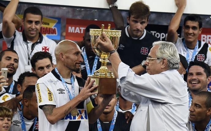 Comemoração do título do Vasco (Foto: André Durão/GloboEsporte.com)