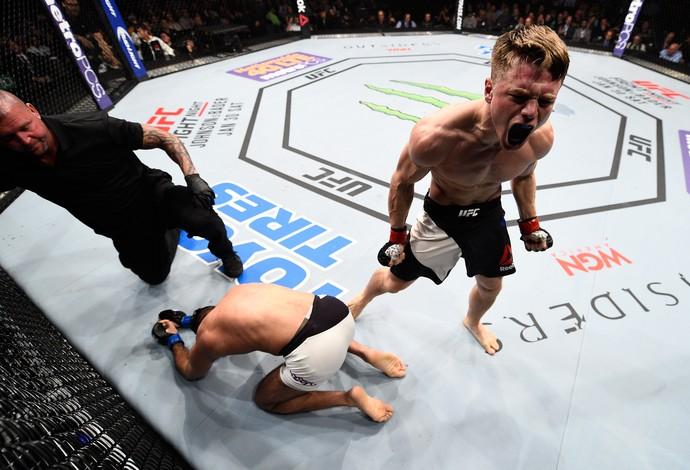 Chris Wade e Mehdi Baghdad, UFC boston (Foto: Getty Images )
