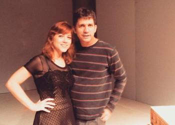 Clarissa e Daniel retomam parceria com o espetáculo  (Foto: Globo Teatro)