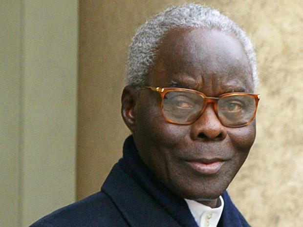 O ex-presidente de Benin, Mathieu Kerekou, em foto de 10 de dezembro de 2002 (Foto: AFP Photo/Patrick Kovarik)