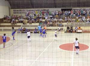 Copa TV TEM Futsal Rio Preto, Rio Preto x São João de Iracema, semifinal (Foto: Patrick Lima / TV TEM)