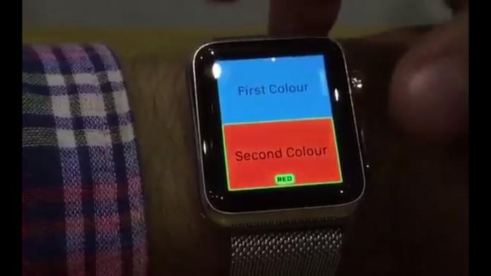 Usuário inglês hackeou o Apple Watch e conseguiu modificar a interface (Foto: Reprodução/Hamza Sood)