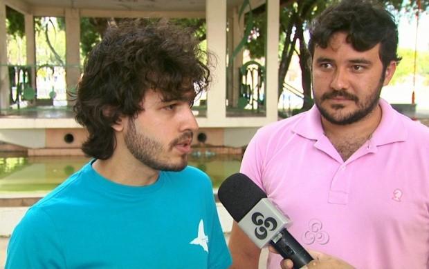 Integrantes do grupo 'Ser Tão Teatro' falam sobre espetáculo (Foto: Roraima TV)