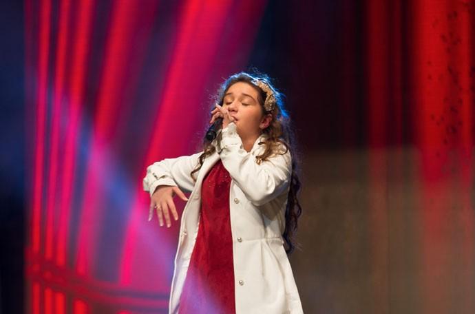 "Pérola Crepaldi cantou ""Beauty and The Beast"" (Foto: Eduardo Alexandre/CWB)"